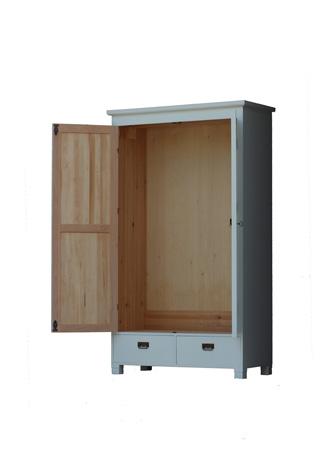 puidust riidekapp 2 ukse ja 2 sahtliga