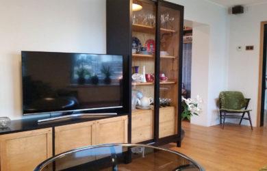 Vitriinkapp ja tv alus